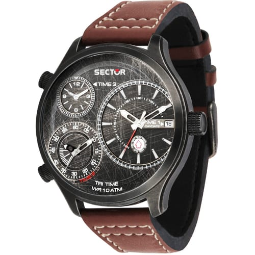 SECTOR TRAVELLER WATCH - R3251504003